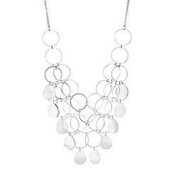 Mood - Multi circle statement necklace