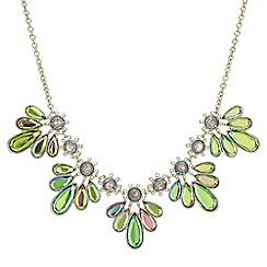 Mood - Crystal petal necklace
