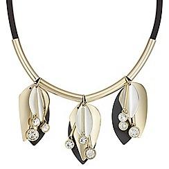 Mood - Monochrome floral necklace