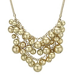 Mood - Orb cluster statement necklace