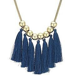 Mood - Orb tassel statement necklace