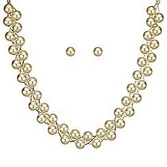 Mood - Gold ball twist jewellery set