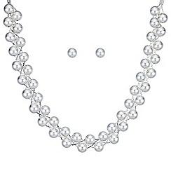 Mood - Silver ball twist jewellery set