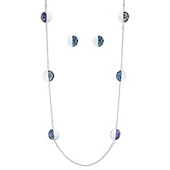 Mood - Multi tone disc jewellery set