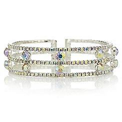 Mood - Aurora borealis crystal bracelet