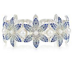 Mood - Crystal flower bracelet