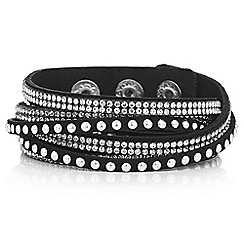 Mood - Studded wrap around bracelet