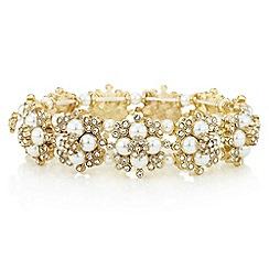 Mood - Pearl flower bracelet