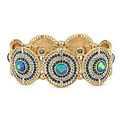Mood - Crystal disc bracelet