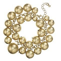 Mood - Orb cluster statement bracelet