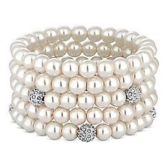 Mood - Pave pearl bracelet set
