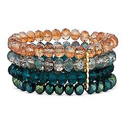 Mood - Beaded multi row bracelet