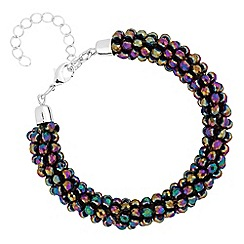 Mood - Multi colour beaded bracelet