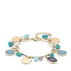 Mood - Abalone charm bracelet