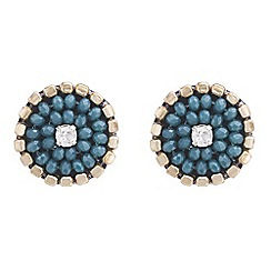 Butterfly by Matthew Williamson - Beaded stud earrings