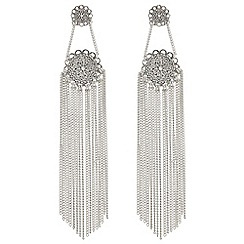 Butterfly by Matthew Williamson - Filigree chain drop earrings