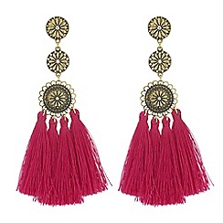 MW by Matthew Williamson - Designer filigree tassel drop earrings