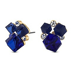 Butterfly by Matthew Williamson - Designer cube cluster earrings