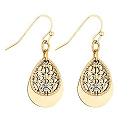 Butterfly by Matthew Williamson - Filigree droplet earrings