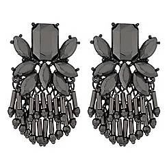 MW by Matthew Williamson - Crystal cluster beaded drop earring