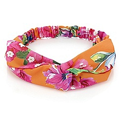 MW by Matthew Williamson - Designer floral print headband
