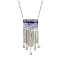 Butterfly by Matthew Williamson - Designer fringed long necklace