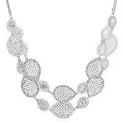 Butterfly by Matthew Williamson - Filigree peardrop multi row necklace