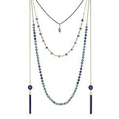 Butterfly by Matthew Williamson - Beaded tassel jewellery set