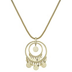 Butterfly by Matthew Williamson - Filigree coin long necklace