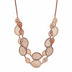 Butterfly by Matthew Williamson - Filigree peardrop necklace