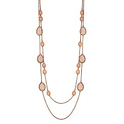 Butterfly by Matthew Williamson - Filigree peardrop long necklace