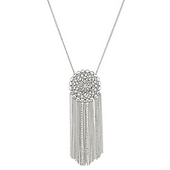 Butterfly by Matthew Williamson - Filigree chain drop necklace