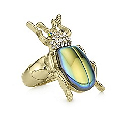 Butterfly by Matthew Williamson - Iridescent bug ring