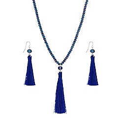Butterfly by Matthew Williamson - Beaded tassel jewellery set
