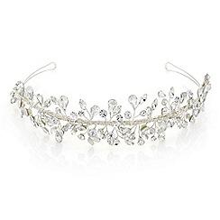 Butterfly by Matthew Williamson - Designer silver crystal spray tiara