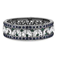 Butterfly by Matthew Williamson - Designer green crystal bracelet