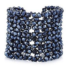 Butterfly by Matthew Williamson - Designer blue beaded bracelet