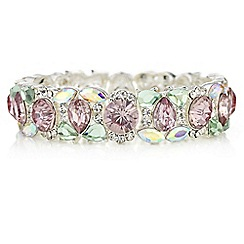 Butterfly by Matthew Williamson - Pink crystal bracelet