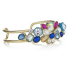 Butterfly by Matthew Williamson - Crystal layered cuff bracelet
