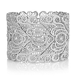 Butterfly by Matthew Williamson - Crystal filigree statement cuff