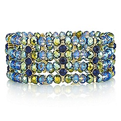 Butterfly by Matthew Williamson - Metallic bead bracelet