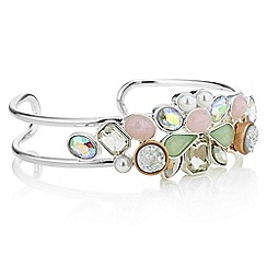 Butterfly by Matthew Williamson - Designer layered crystal cuff