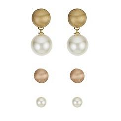Principles - Pearl earrings set