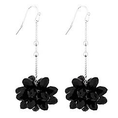 Principles - Floral bead drop earrings