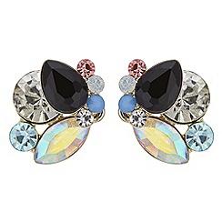 Principles - Crystal cluster stud earrings