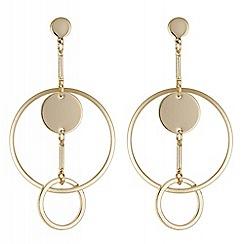Principles - Circle link earrings