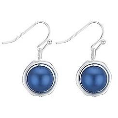 Principles - Pearl orb drop earrings