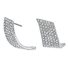 Principles - Pave crystal twist earrings