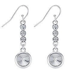 Principles - Rivoli crystal drop earrings