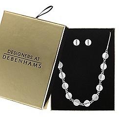Principles - Pave disc jewellery set